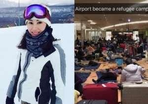 李嘉欣一家滞留机场三天 质问航空公司被网友酸
