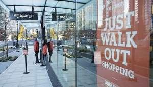 尴尬!不用排队的亚马逊无人店,开店首日最大问题是:排队太长
